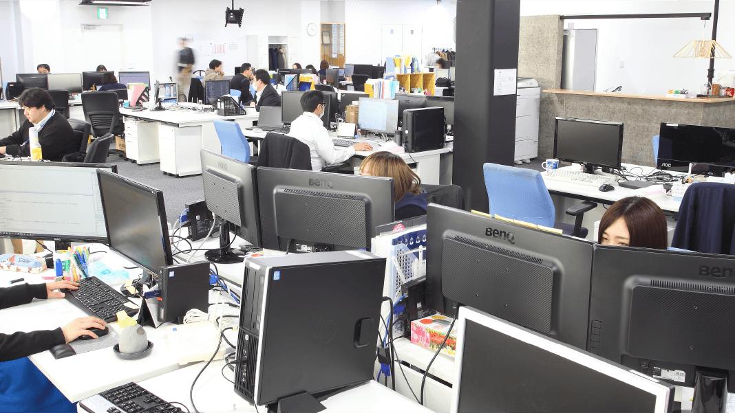 オフィス環境の様子8